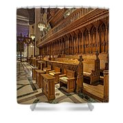 Washington National Cathedral Sanctuary Shower Curtain by Susan Candelario