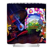 Watch With Mother Shower Curtain by Charles Stuart
