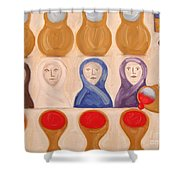 Water Into Wine Shower Curtain by Patrick J Murphy