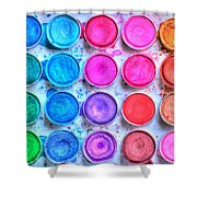 Watercolor Shower Curtain by Heidi Smith