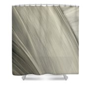 Waterfall Abstract Shower Curtain by Karol  Livote