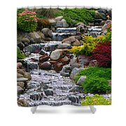 Waterfall Shower Curtain by Tom Prendergast