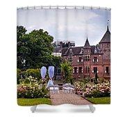 Wedding Setting In De Haar Castle. Utrecht Shower Curtain by Jenny Rainbow
