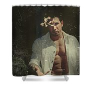 Well Forget You Shower Curtain by Laurie Search