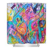 Wellspring Of Truth 1 Shower Curtain by David Baruch Wolk