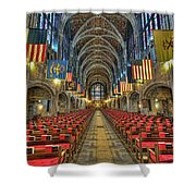 West Point Cadet Chapel Shower Curtain by Dan McManus