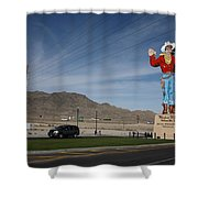 West Wendover Nevada Shower Curtain by Frank Romeo