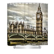 Westminster Shower Curtain by Heather Applegate