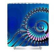 Wheel Of Fortune Shower Curtain by Anastasiya Malakhova