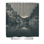 When I Felt Your Heart Beat With Mine Shower Curtain by Laurie Search