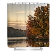 When Morning Arrives Shower Curtain by Jeff Burton