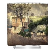 Wherever I Go Shower Curtain by Taylan Soyturk