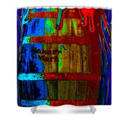 Whiskey A Go Go Shower Curtain by Alec Drake