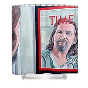 Who Is This Guy Shower Curtain by Tom Roderick