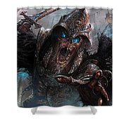 Wight Of Precinct Six Shower Curtain by Ryan Barger