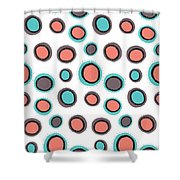 Wild Bounce Shower Curtain by Susan Claire