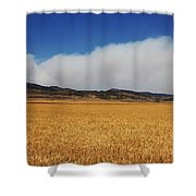 Wildfire Shower Curtain by Jon Burch Photography
