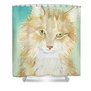 Willard Shower Curtain by Pat Saunders-White