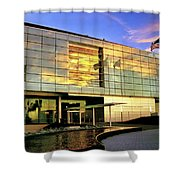 William Jefferson Clinton Presidential Library Shower Curtain by Jason Politte