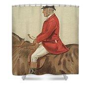 William Ward Tailby Shower Curtain by Sir Samuel Luke Fildes