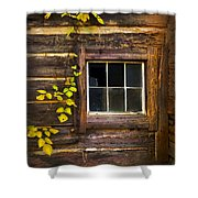 Window To The Soul Shower Curtain by Debra and Dave Vanderlaan