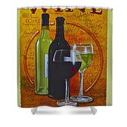 Wine Country Shower Curtain by Frozen in Time Fine Art Photography