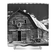 Winterberry Farm Shower Curtain by Guy Whiteley