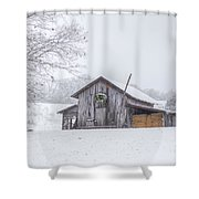 Winter's Past Shower Curtain by Benanne Stiens