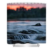 Wish You Are Here Shower Curtain by Davorin Mance