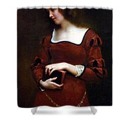 Wistful Thoughts Shower Curtain by Gustave Jean Jacquet