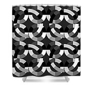 Without Colors  Shower Curtain by Mark Ashkenazi