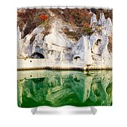 Wonderful Rocks Shower Curtain by Evgeni Dinev