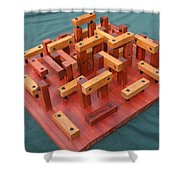 Woodhenge Shower Curtain by Dave Martsolf