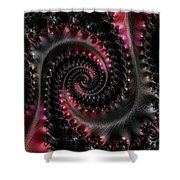 Wrapped Tails Shower Curtain by Bill Owen