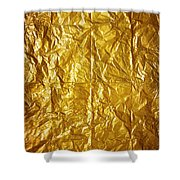 Wrinkled Paper Shower Curtain by Carlos Caetano