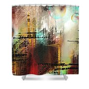 Xanadoo Shower Curtain by Francoise Dugourd-Caput