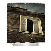 Years of decay Shower Curtain by Taylan Soyturk