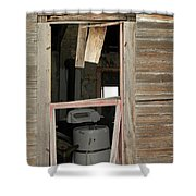Yesterdays Laundry Shower Curtain by Jeff Swan