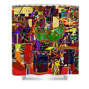 You Saw No Picture 11 Shower Curtain by David Baruch Wolk