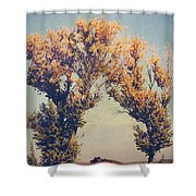 You Were Meant For Me Shower Curtain by Laurie Search