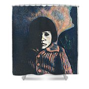 Young Girl Shower Curtain by Kendall Kessler