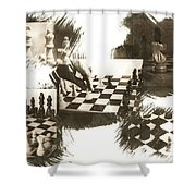 Your Move Shower Curtain by Caitlyn  Grasso