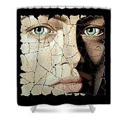 Zara Shower Curtain by Steve Bogdanoff