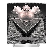 Zeus Shower Curtain by Dominic Piperata