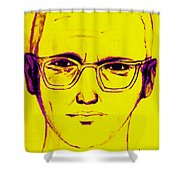 Zodiac Killer With SIgn 20130213m68 Shower Curtain by Wingsdomain Art and Photography