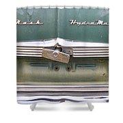 1951 Nash Ambassador Hydramatic Back Shower Curtain by James BO  Insogna