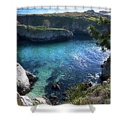 China Cove Shower Curtain by Mike Herdering
