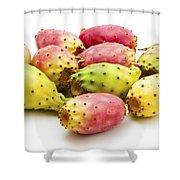 Fruits Of Opuntia Ficus-indica  Shower Curtain by Fabrizio Troiani