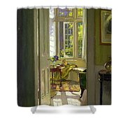 Interior Morning  Shower Curtain by Patrick Williams Adam