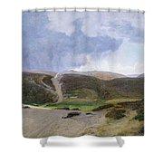 Scandinavian Landscape  Shower Curtain by Janus la Cour